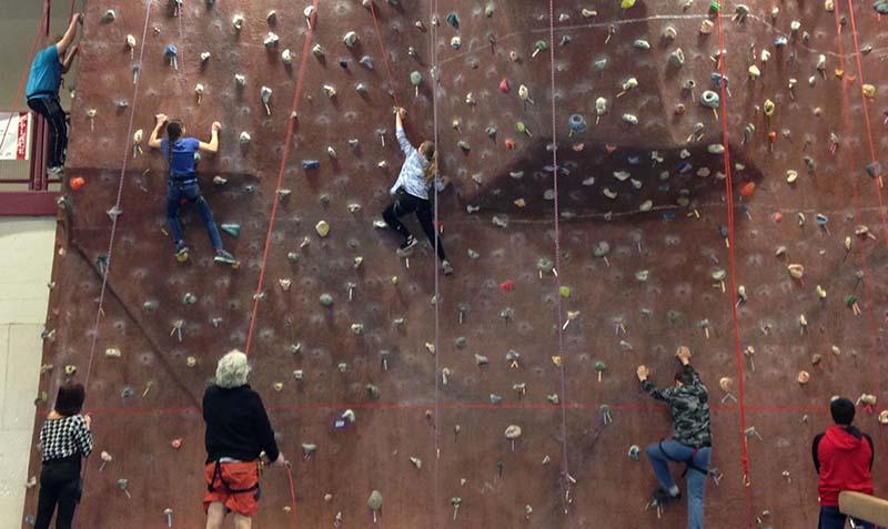 Climbing Wall - Bath Area Family YMCA