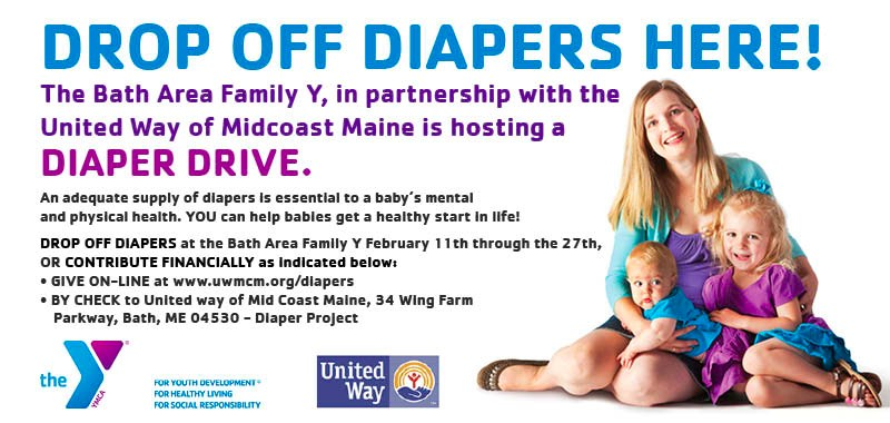 Drop off diapers here
