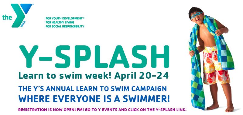 Ysplash swim week