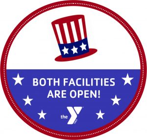 Both Y Facilities OPEN President's Day 2/19