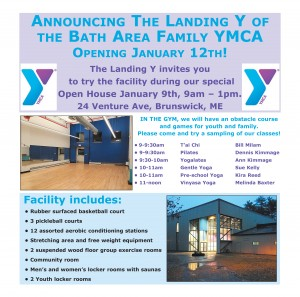 Landing Y of the Bath Area Family YMCA
