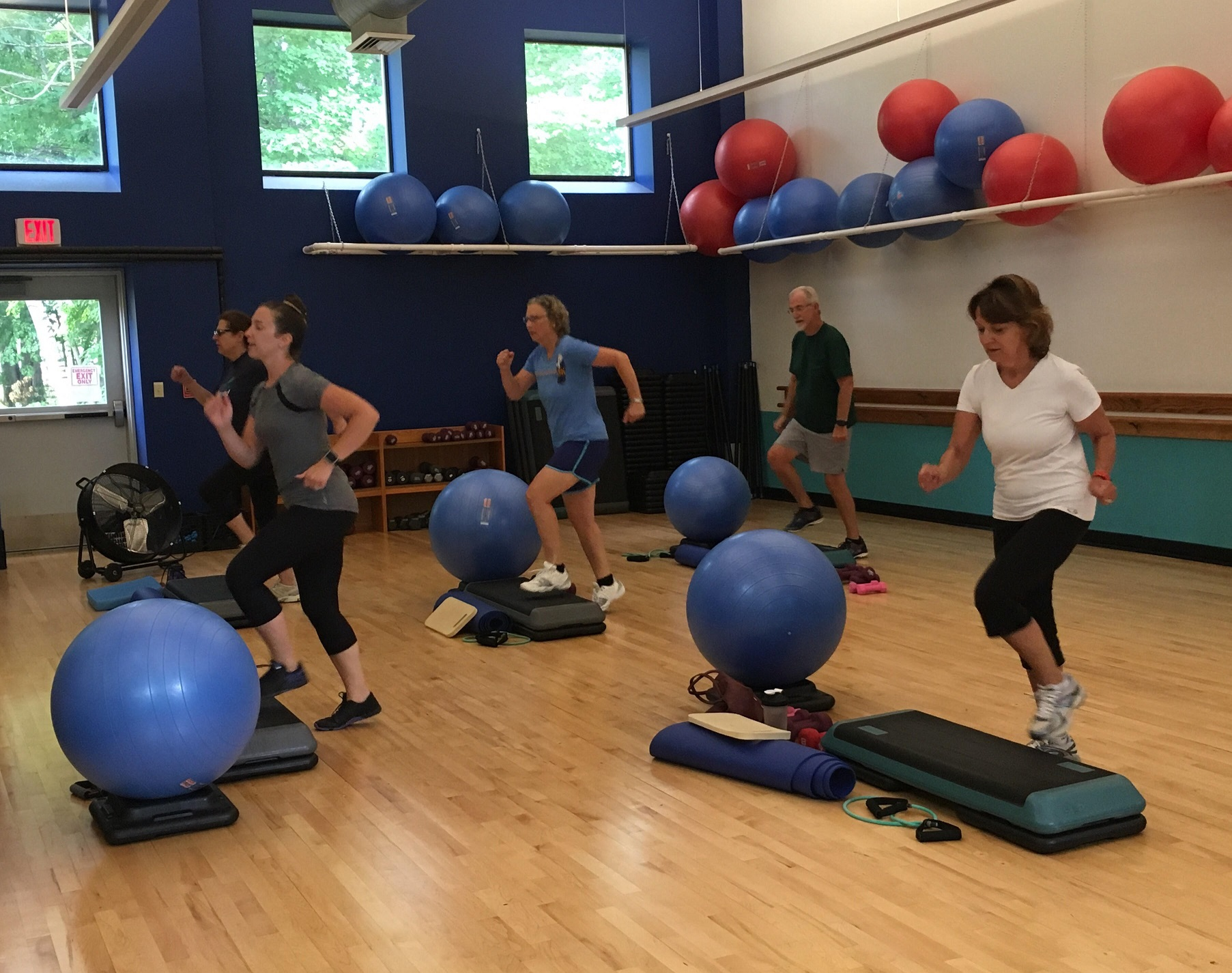 Classes at the Landing - Bath Area Family YMCA