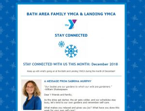Y Newsletter December 2018 Web