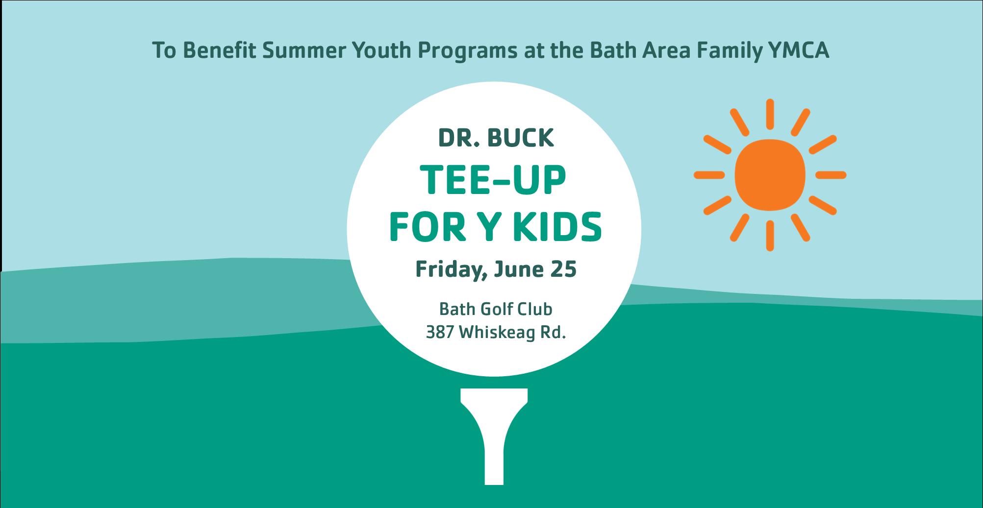 Dr. Buck Tee-Off for Kids Website
